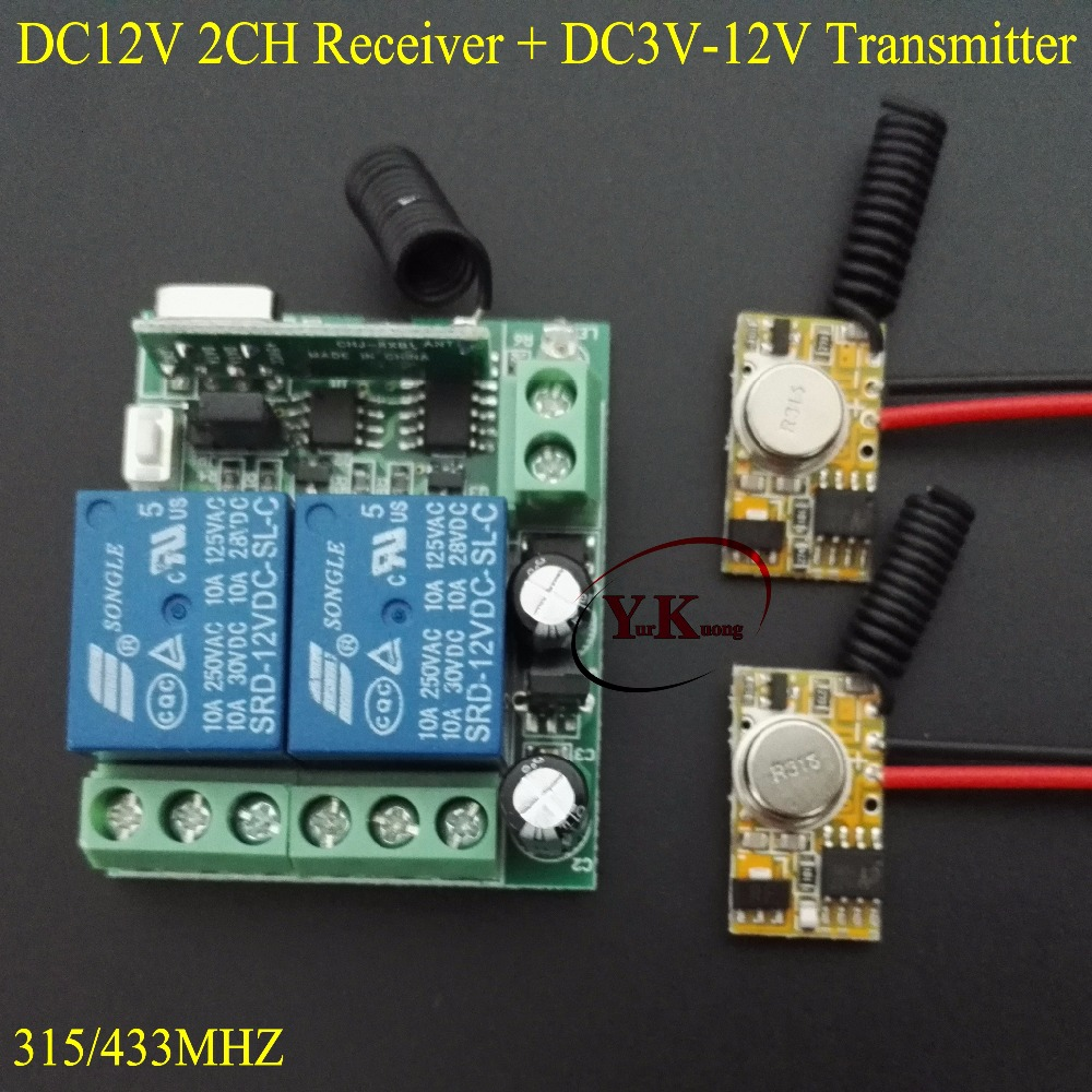 Alarm system Remote Transmitter Input Power transmitting Signal 3V 3.7V 5V9V 12V TX PCB 12V 2CH Relay Contact Mini Remote Switch dc3 5v dc12v mini relay receiver dc3v dc12v transmitter pcb power on transmitting 3 7v 4 5v 5v 6v 7 4v 9v 12v wireless tx rx mod