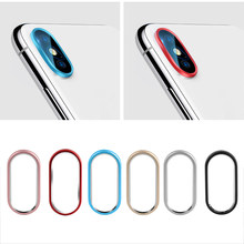 Mode Smart Phone Camera Metalen Rear Lens Protector Case Cover Bumper Lens Bescherming Ring Voor iPhone 7 8 Plus/ x//XS Max(China)