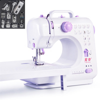 12 Stitchs Handheld Sewing Machine Portable Knitting Electric Presser Foot Pedal Tread Rewind Sewing Russian Manual