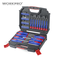 WORKPRO 56PC Screwdriver And Bits Set