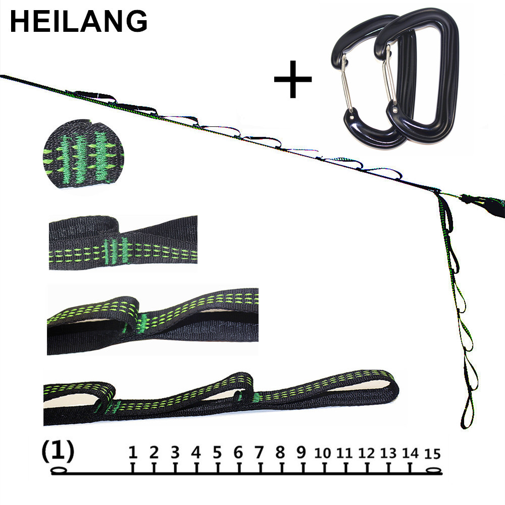 Strong Hammock Strap Hanging Hammock Belt Hamaca Hamak for Camping,Portable Hanging Tree Rope With Hammock Safety Buckle Hook super strong hammock strap hanging hammock belt hamaca hamak for camping traveling portable hanging tree rope 12kn free shipping