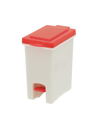Rubbermaid Trash Can Figure Toy Garbage Office Wastebasket Kitchen Home