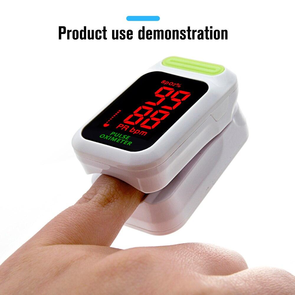 Monitor de Saturação de Oxigênio no Sangue pr Spo2 de