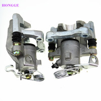 HONGGE 1 Pair 2.0 1.8 Rear Brake Caliper Pump Assembly For TT A3 Seat Leon Toledo II VW Bora 4 Golf MK4 1J0 615 423 B 1J0615424B