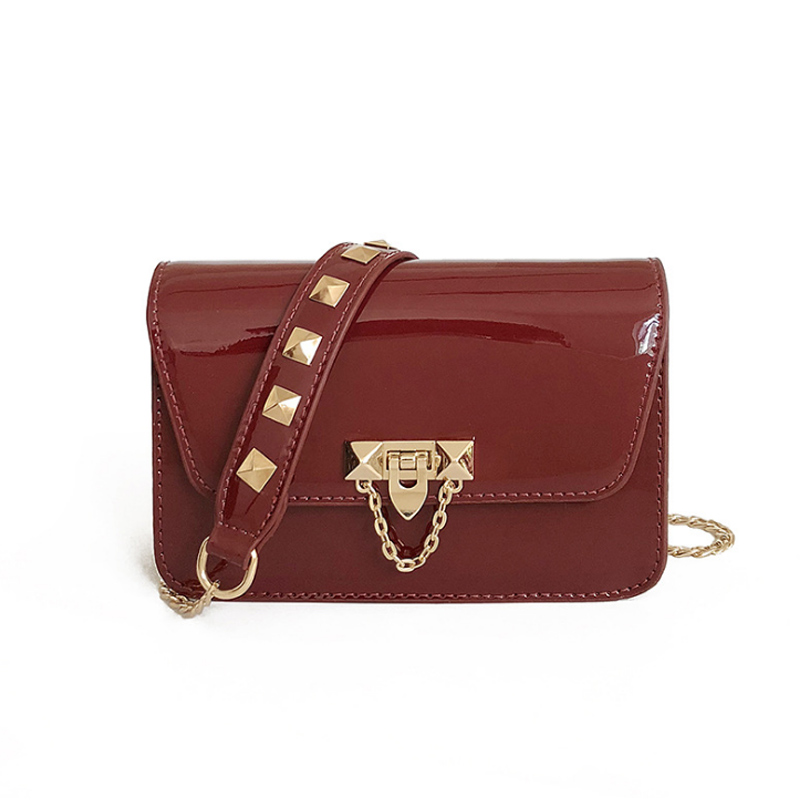 2018 Spring New Fashion Women Shoulder Bag Chain Strap Flap Designer Handbags Clutch Bag Ladies Messenger Bags With Metal Buckl