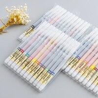 Colorful 12 24 Colors 0 4mm Art Marker Pen Fineliner Highlighter Gel Pen Water Ink Stamp