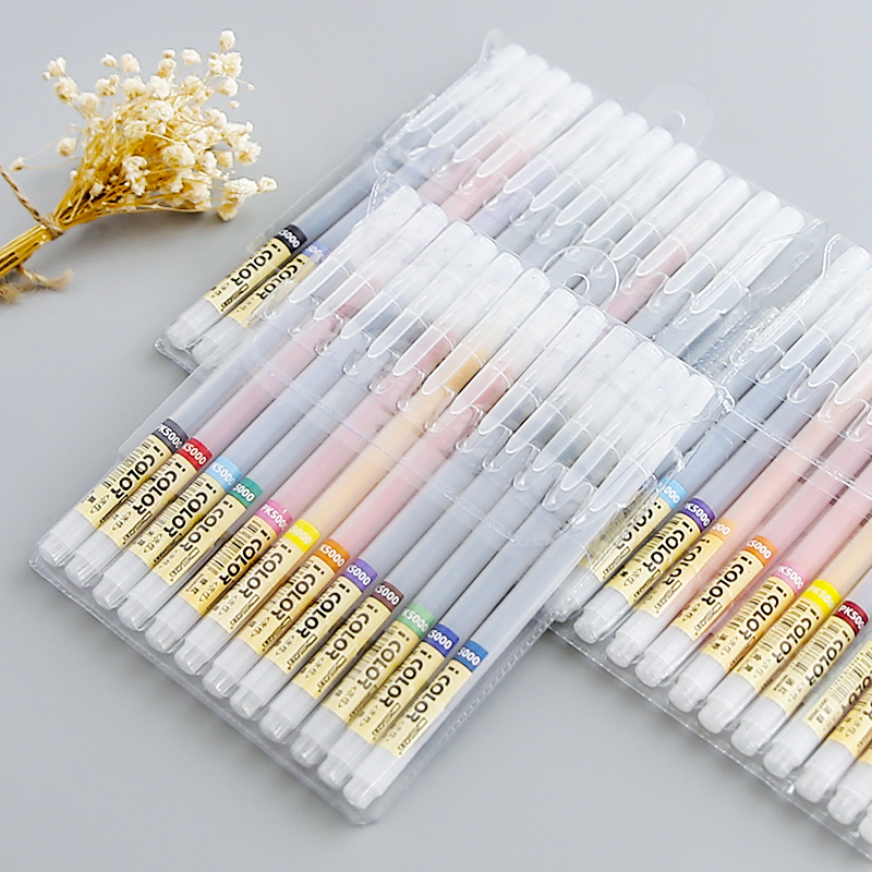 Colorful 12/24 Colors 0.4mm Art Marker Pen Fineliner Highlighter Gel Pen Water Ink Stamp Sketch Paint Hook Fiber Drawing Pencil ушм болгарка кратон amg 2100