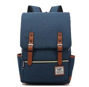 Image 2 - [Livraison directe] 2018 mode Preppy Style sacs décole adolescent étudiants femmes nouveaux hommes sacs grande capacité sacs à dos dordinateur portable (A013)