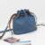 Nigedu à prova d' água mulheres denim balde crossbody sacos de cowboy casual canvas messenger bags para alça da mala para o saco de ombro das mulheres