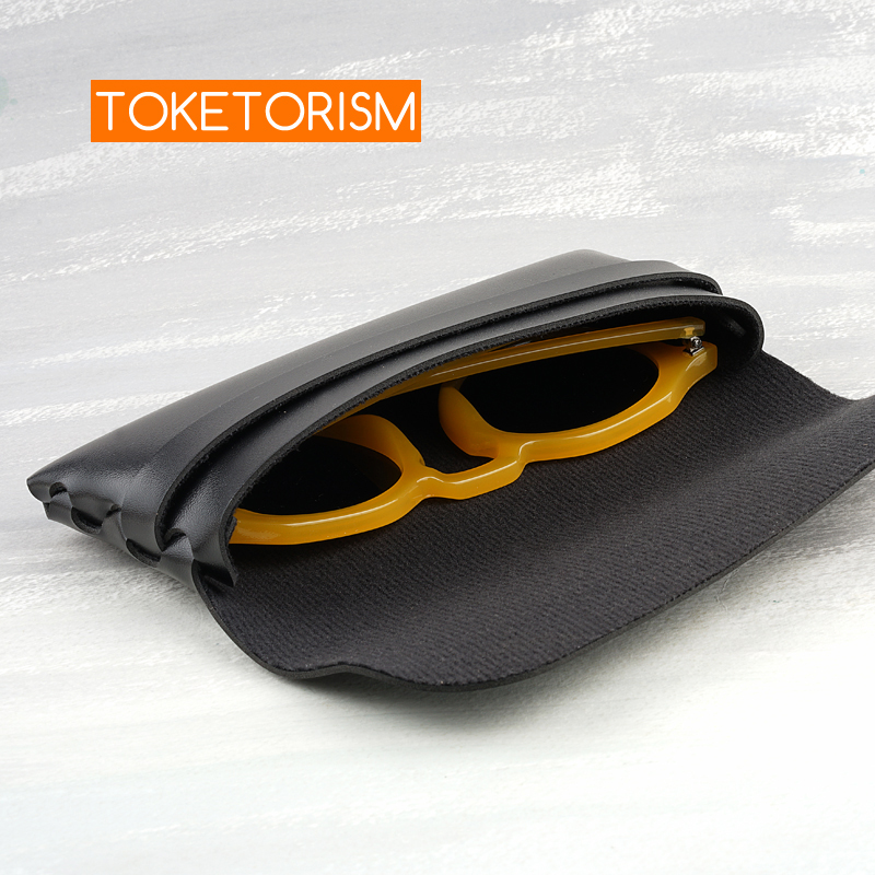 Toketorismo caixa de óculos de sol unissex,