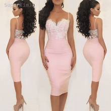 SuperKimJo Pink Lace Bridesmaid Dresses 2019 Cheap Short Custom Mermaid Wedding Party Dress Robe Demoiselle Dhonneur
