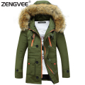Winter Jacket Men 2017 Coats Men Windproof Outwear Overcoats Wadded Coat Men Zipper Jackets For Male Warm Clothing