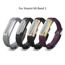 Silicone Wriststrap Replacement For Xiaomi Mi Band 1/2 Strap Bracelet Waterproof Accessories Sport Watchband 1yw
