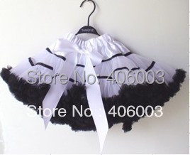 Wholesale  Girls Lace Skirts Children Tutu Pettiskirt 3pc/ Lot Free Shipping