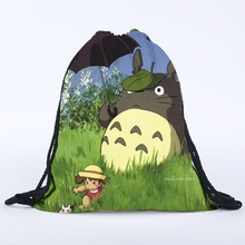 My Neighbor Totoro – Gym Sack Drawstring Shoes Bag – Style 1