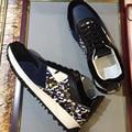 Chegam NOVAS De Marca Top Designer cam spikes formadores camuflagem sapatos casuais Homens sapatilhas de couro genuíno Sapatos tamanho: 38-43