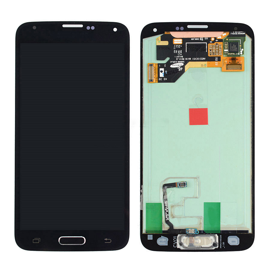 Black Touch Screen Digitizer + LCD Display Assembly Replacement with home button for Samsung Galaxy S5 i9600 G900A Free Shipping brand new lcd for samsung s5 i9600 g900a g900f g900t screen display with touch digitizer tools assembly 1 piece free shipping