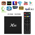 X96 2G/16G Smart Android 6.0 TV Box Quad Core 4K XBMC WiFi Keyboard AH273