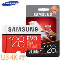 Samsung evo + micro sd 32g sdhc 80 mb/s classe class10 cartão de memória c10 UHS-I tf/sd cartões flash trans sdxc 64 gb 128 gb frete grátis