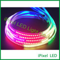 144 LED SMD 5050 RGB digital programmable full color APA102 led strip DC5V ,apa102c led tape for decoration