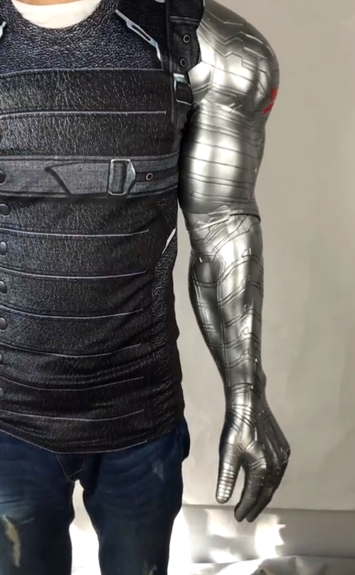 The Avengers Captain America Winter Soldier Bucky Barnes Robotic arms Halloween Weapons