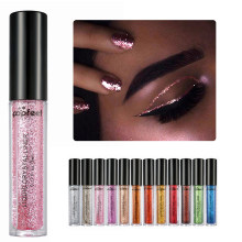 Popfeel Hybrid Sequins Glitter Round Colorful Glitter Pots Nail Face body eyeShadow Glitter Beauty Makeup Shinning Gloss(China)
