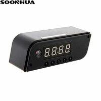 SOONHUA Mini HD Cámara AP/STA 1280x720 visión nocturna videocámara inalámbrica WiFi Mini DV DVR grabador de vídeo videocámara reloj