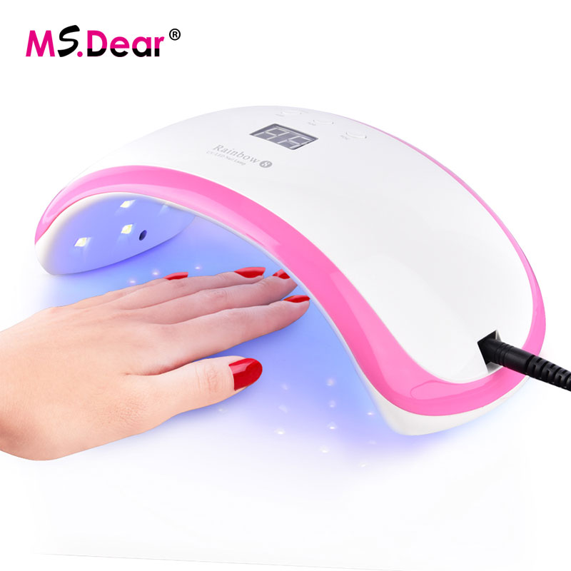 36W UV LED Lamp Nail Dryer Manicure Lamp Infrared Sensor LCD Display For Curing Gel Polish Nail Art Tools Perfect Thumb Solution professional 48w uv led lamp nail dryer for nail gel polish curing led nail lamp dryers art manicure automatic sensor nail tools