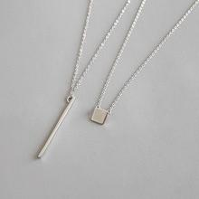 HFYK 2019 925 Sterling Silver Necklaces One Set Pendant For Women collares de moda colar silver jewelry kolye