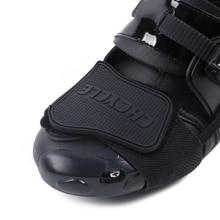 CHCYCLE мотоциклетные защитные сдвижные колодки для мотокросса мужские ботинки защита обуви шестерни для верховой езды резиновый рычаг гоночного тормоза крышка