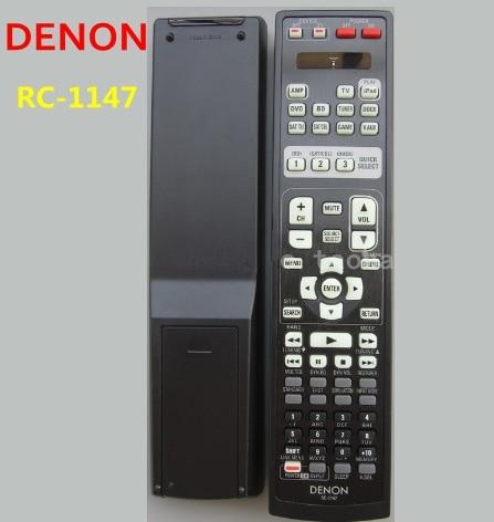 High Quality Universal REMOTE CONTROL RC-1147  FIT DENON AV Amplifier lite full aluminum high quality universal remote supports mv02 mv04 mv06 v02 v03