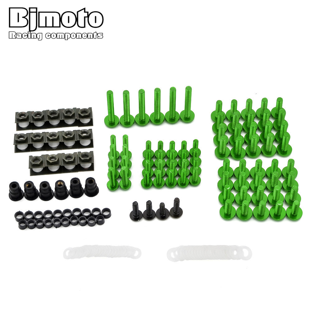 Motorcycle Fairing Body Spring Bolts Nuts Spire Speed Fastener Clips Screw Scooters For Kawasaki ER6N ER6F VERSYS Z800 NINJA250R