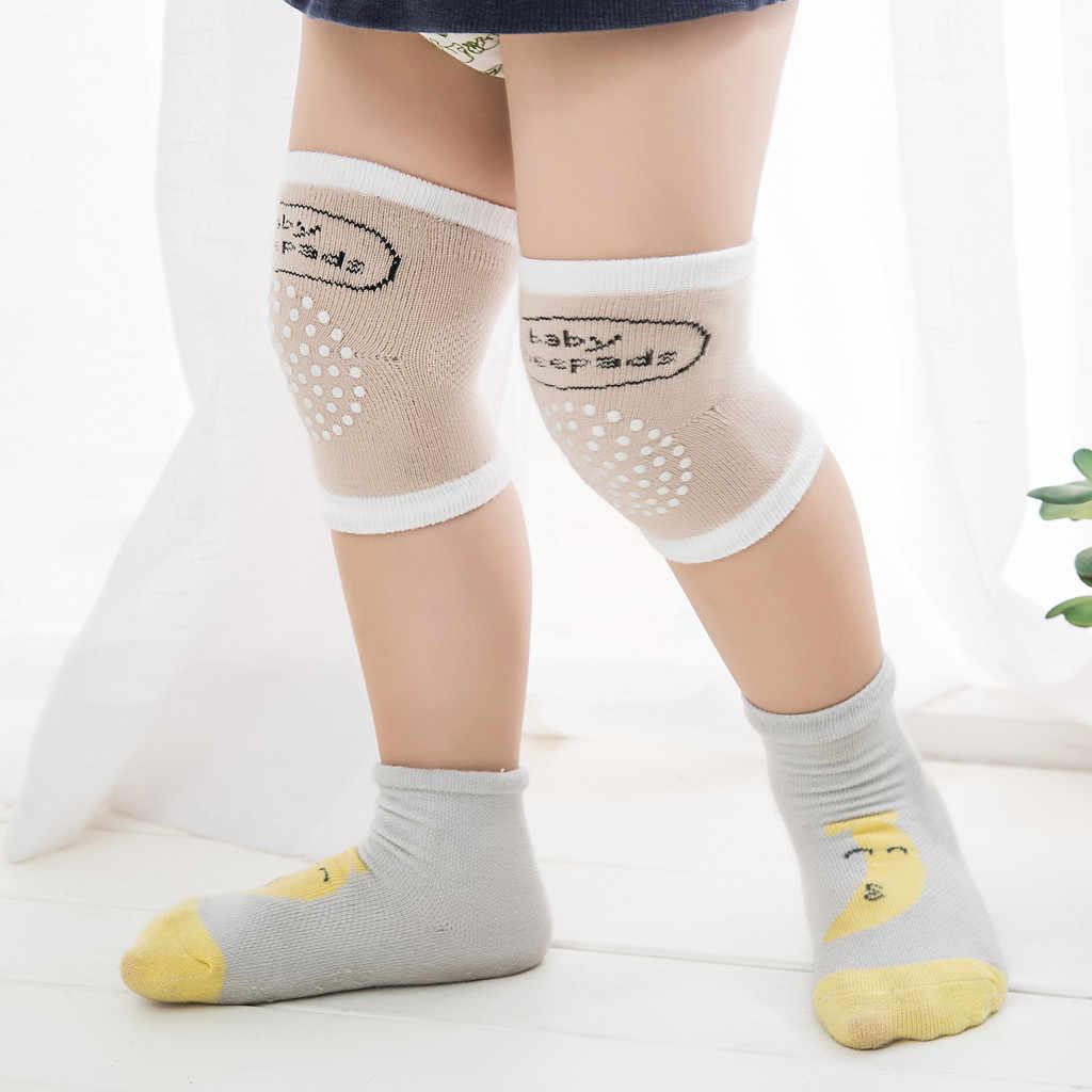 Baby Kniebeschermers Kids Anti Slip Crawl Noodzakelijke Baby Een Paar Anti-Slip En Anti-Val Van Kind bescherming Beenwarmers Voor Baby