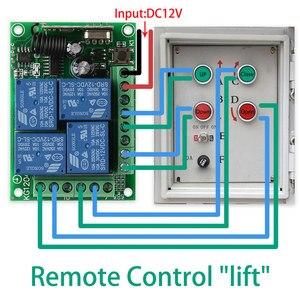 Image 3 - KTNNKG تيار مستمر 12 فولت 10A 4CH اللاسلكية مفتاح بالتحكم عن بعد وحدة التتابع أتمتة المنزل الذكي متعدد fonموديل وحدة تحكم المحرك 433 ميجا هرتز استقبال