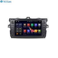 YESSUN Android Radio Car DVD Player For Toyota Corolla 2007~2011 Stereo Radio Multimedia GPS Navigation With AM/FM