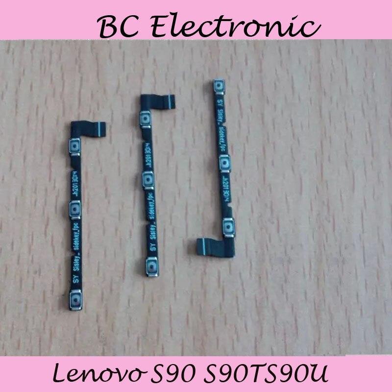 Для Lenovo S90 S90TS90U Мощность Swtich на кнопку выключения Объем шлейф Замена запчастей Бесплатная доставка