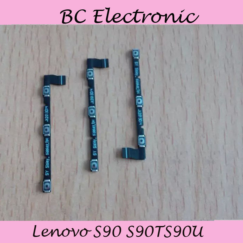 For Lenovo S90 S90TS90U Power swtich on off volume button flex cable replacement repair parts Free Shipping