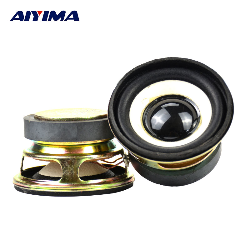 Aiyima 2Pcs Full Range Audio Speakers 2Inch 52mm 4Ohm 3W Loudspeaker