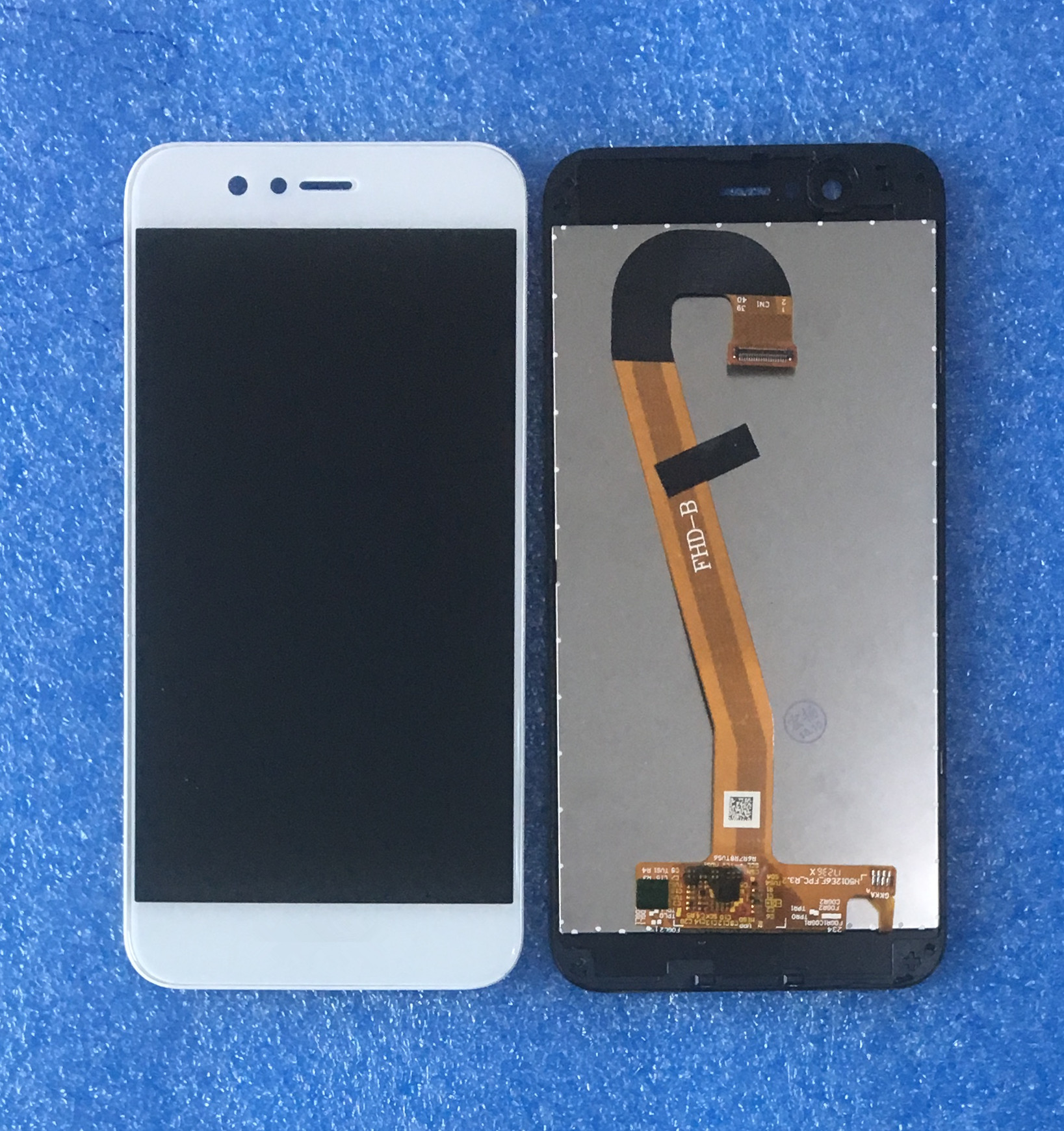 Original For 5.0 Huawei Nova 2 PIC AL00 PIC TL00 PIC LX9 Axisinternational LCD Screen Display With Frame+Touch Panel Digitizer