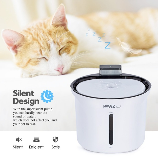 Pet Drinking Water Fountain 3L Pet Dog Cat Water Dispenser Automatic Intelligent Bowl Fountain Drink Electric Automatic Feeder
