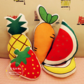 Super adorable cute summer fruit pillow watermelon pineapple Strawberry Banana pillow birthday gift toys