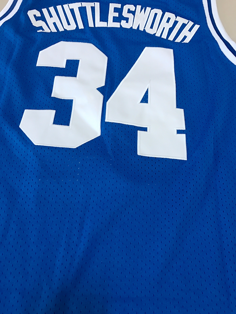 51bbff7b5 jesus shuttlesworth 34 lincoln basketball jersey he got game all stitched  blue in basketball jerseys from