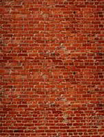 Customize Red Brick Wall Vinyl Photography Backdrops 5 X 7 Ft Fabric Cloth For Photo Studio