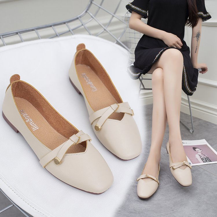 Brand Ksyoocur 2018 New Ladies Flat Shoes Casual Women Shoes Comfortable Pointed Toe Flat Shoes Spring/autumn/summer 18-017 brand ksyoocur 2018 new ladies slippers shoes casual women shoes comfortable spring autumn summer women slippers shoes 18 014