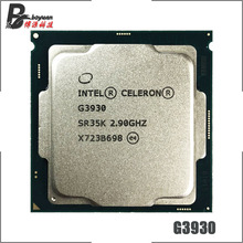 Intel Celeron G3930 2.9 GHz Dual-Core Dual-Thread CPU Processor 2M 51W LGA 1151