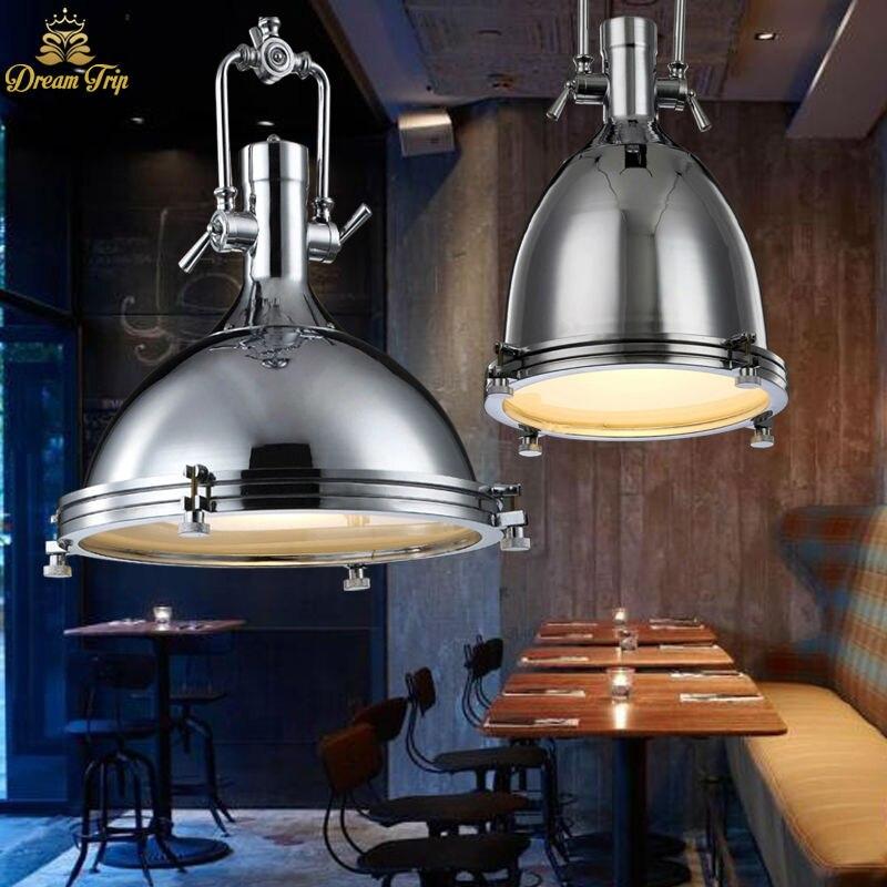 Vintage Pendelleuchten E27 Industrie Retro Edison Lampen Dia36cm
