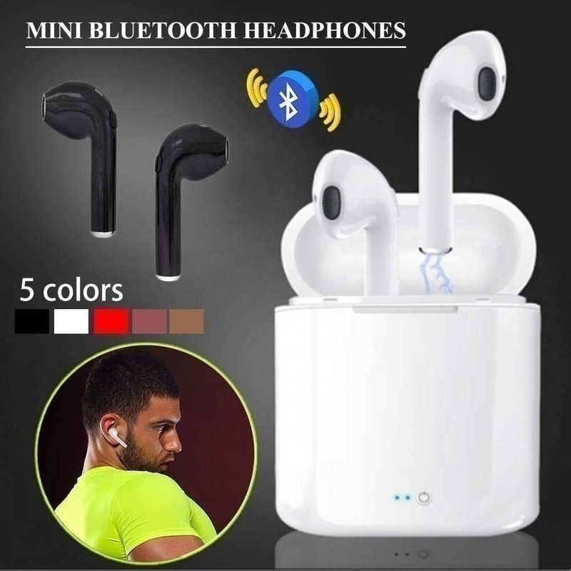 TWS Bluetooth Earphone Handfree Headset Wireless Headphones Double True Wireless Earbuds Stereo Ear bud with Charging Box