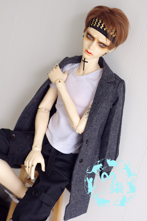 Handsome Long Sports Woolen Coat for Bjd 1/3 SD13 Doll Clothes CMB105 uncle 1 3 1 4 1 6 doll accessories for bjd sd bjd eyelashes for doll 1 pair tx 03