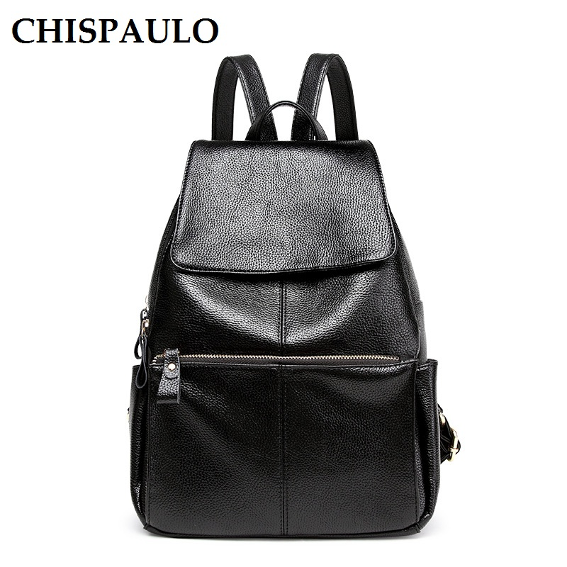 купить Famous Brands Designer Bag High Quality Genuine Leather Backpack Women Bags Vintage Woman Backpacks School Bags For Girls N115 по цене 1797.85 рублей