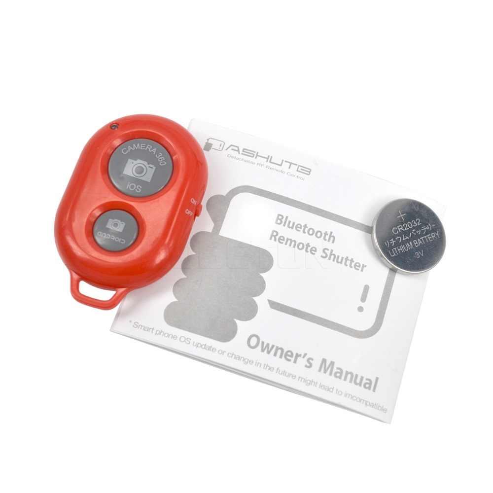 Kebidu inalámbrico Bluetooth temporizador automático disparador de la cámara control remoto Multi Color para iPhone para teléfono inteligente con Android